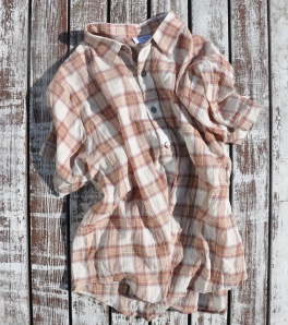 plaid beach shirt